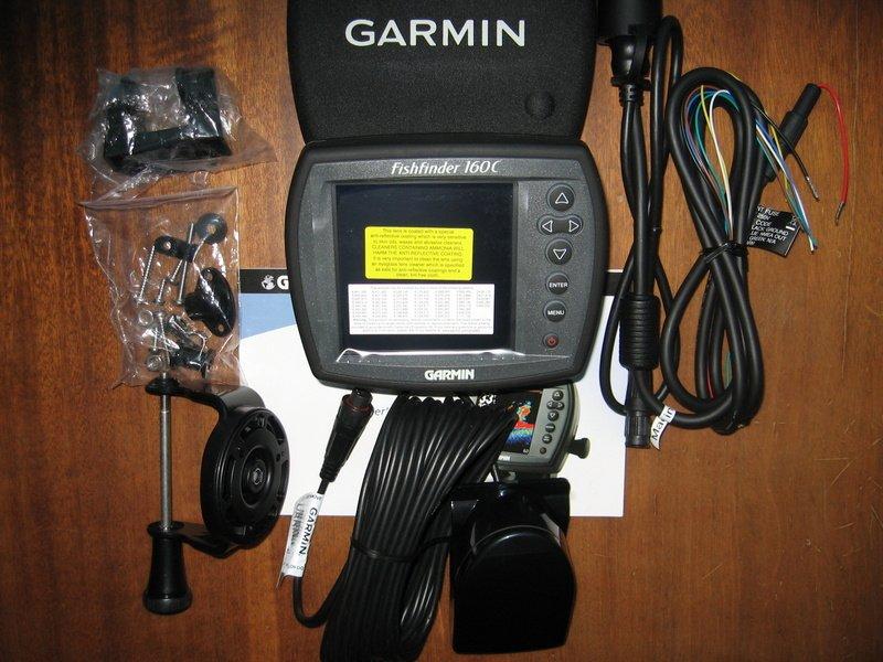 работа с эхолотом garmin fishfinder 90