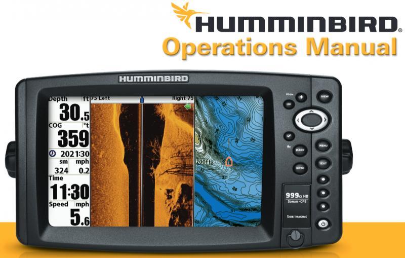 инструкция на эхолот humminbird 140c