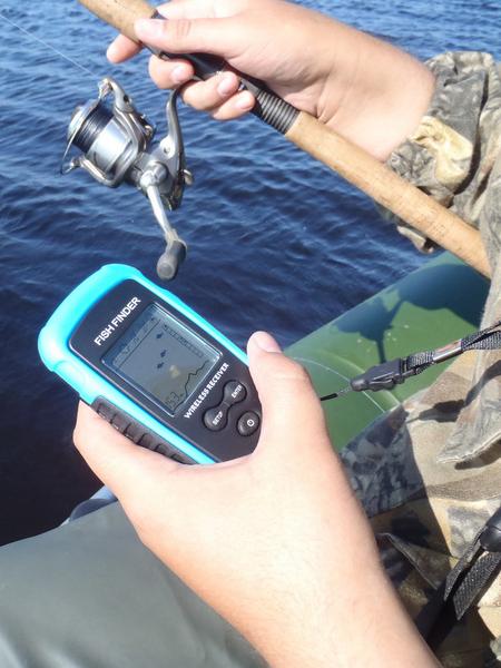 купить эхолоты для ловли с берега
